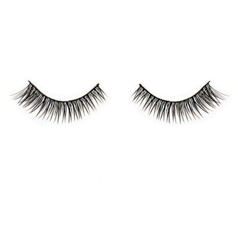 Shops False Eyelashes Lashes Cross Natural Long 3 Pairs