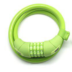 MEETLOCKS Green Bicycle Lock -