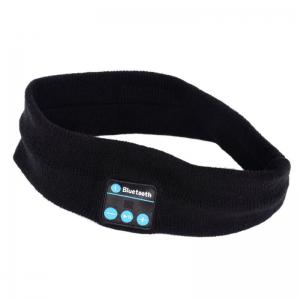Bluetooth Music Knitted Sports Headband Headwear Headphones -