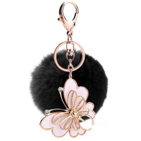 Shops Creative Girl Animal Rabbit Plush Ball Car Pendant