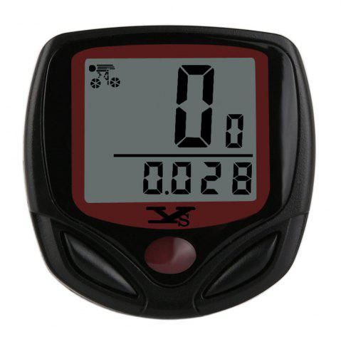Online Waterproof Bicycle Computer Digital LCD Bike speed meter Bicycle Odometer