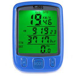 Bicycle Computer Water Resistant Cycling Odometer -