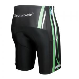 Twotwowin CK84 Men's Cycling Shorts with 3D CoolMax Pad -