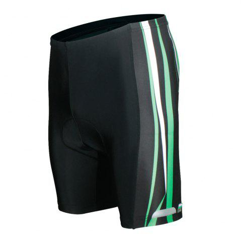 Fashion Twotwowin CK84 Men's Cycling Shorts with 3D CoolMax Pad