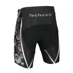 Twotwowin CK83 Men'S Cycling Shorts with 3D CoolMax Padded -