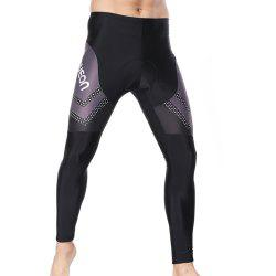Twotwowin CCM01 Men's Cycling Tights with CoolMax Pad -