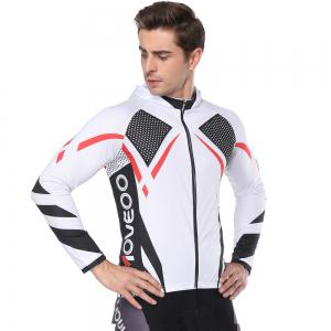 Twotwowin CM2 Men'S Long Sleeve Hoodie Cycling Jersey -