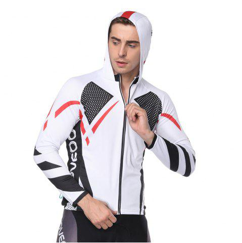 Store Twotwowin CM2 Men'S Long Sleeve Hoodie Cycling Jersey