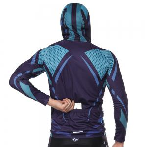 Twotwowin CM5 Men's Long Sleeve Hoodie Cycling Jersey -