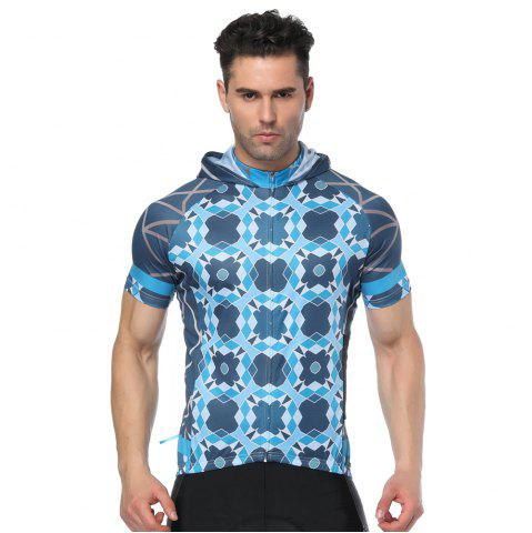 Unique Twotwowin CMS1 Men's Hoodie Cycling Jersey