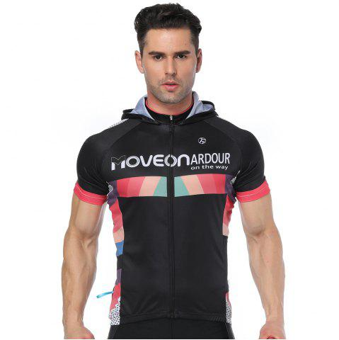 Hot Twotwowin CMS3 Men's Hoodie Cycling Jersey