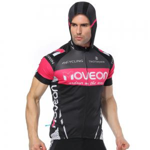 Twotwowin CMS4 Men's Hoodie Cycling Jersey -