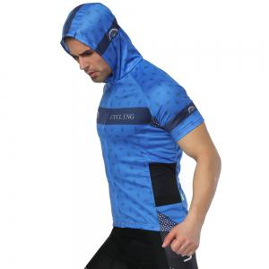 Twotwowin CMS6 Men's Hoodie Cycling Jersey -