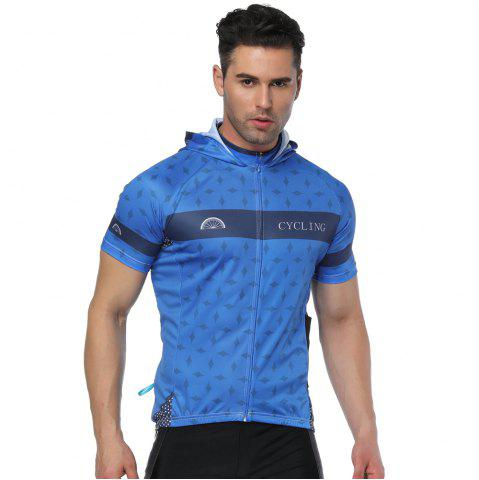 New Twotwowin CMS6 Men's Hoodie Cycling Jersey