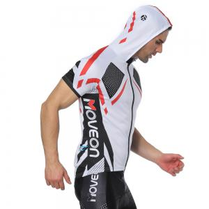 Twotwowin CMS7 Men's Hoodie Cycling Jersey -