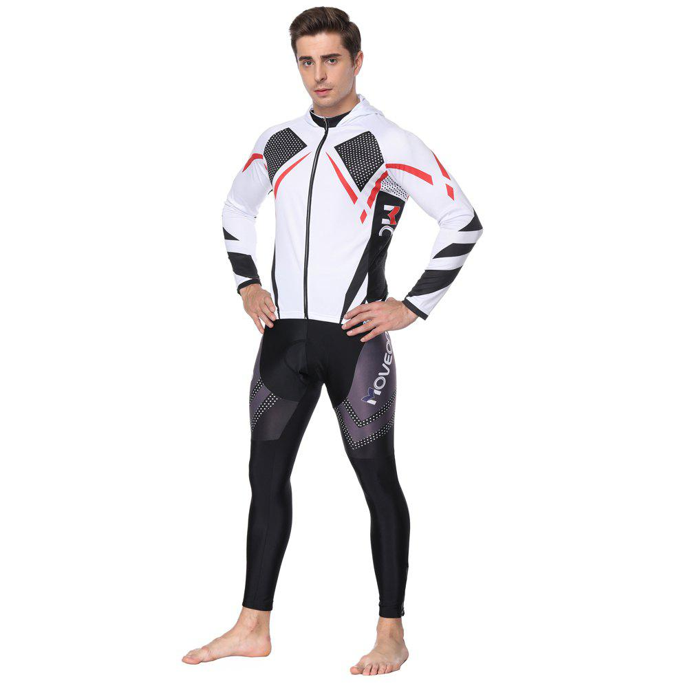 Outfits Twotwowin CMSP1 Men's Hoodie Cycling  Suit Jersey  Pants