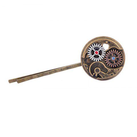 Trendy Europe and The United States Popular Steampunk Watch Gear Tiara Hair Clip