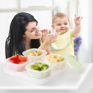 Baby Blocks Freezer Storage Containers -