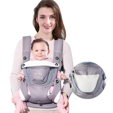 Shop SUNVENO Breathable Baby Carrier Face To Face Face Front Backpack For Baby 0-12