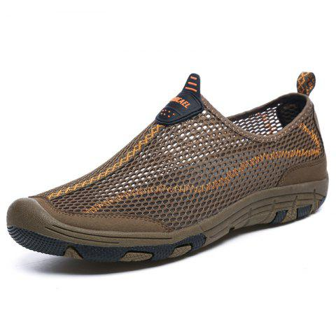 ZEACAVA Men Honeycomb Mesh Quick Drying Upstream Shoes Повседневная пляжная обувь