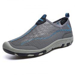 ZEACAVA Men Honeycomb Mesh Quick Drying Upstream Shoes Casual Beach Shoes -
