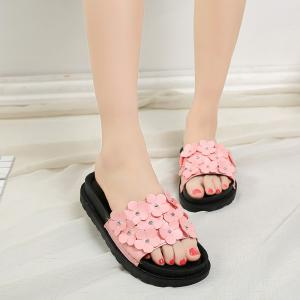 Slippers with Thick Bottom and Antiskid -
