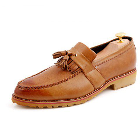 Shop Men Casual Fashion Business Leather Shoes