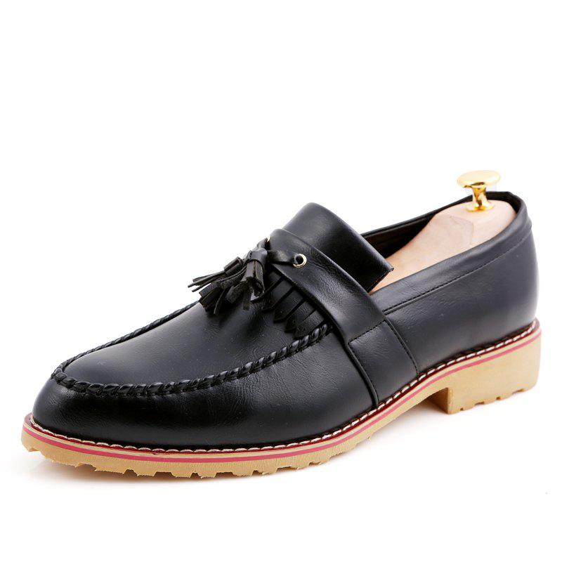 Discount Men Casual Fashion Business Leather Shoes