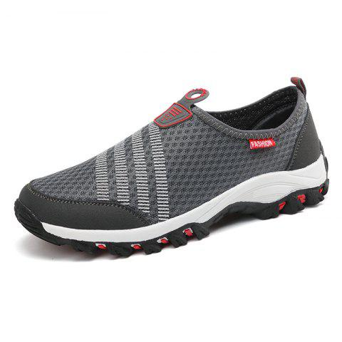 Fancy Men Casual Fashion Mesh Breathable Shoes