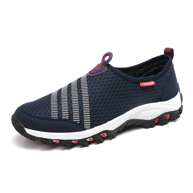 Online Men Casual Fashion Mesh Breathable Shoes