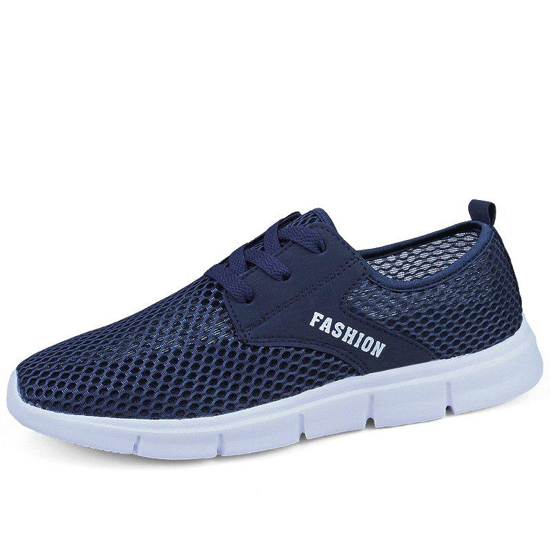 Shop Lightweight Breathable Mesh Beach Shoes Comfort FlatsSneakers