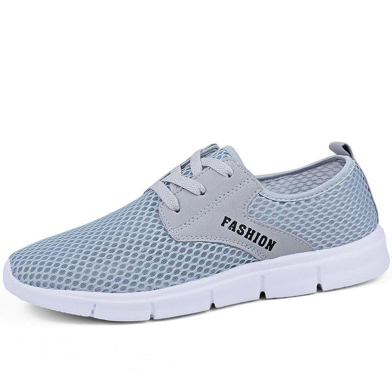 Shop Lightweight Breathable Mesh Beach Shoes Comfort Flats Sneakers