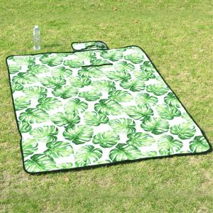 Suede Portable Picnic Mat Outdoor Anti Tide Camping Mat -