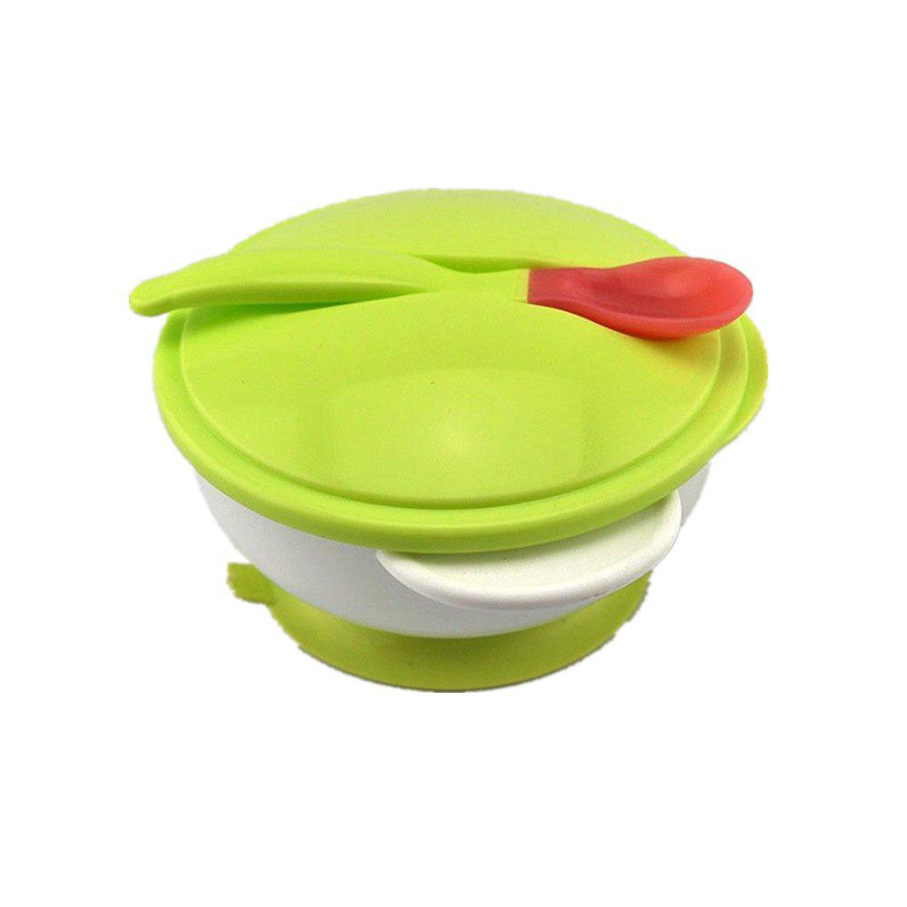 Fashion Baby Cutlery Double Ear Belt Cover with Bowl
