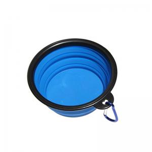Portable Silicone Collapsible Pet Bowl -