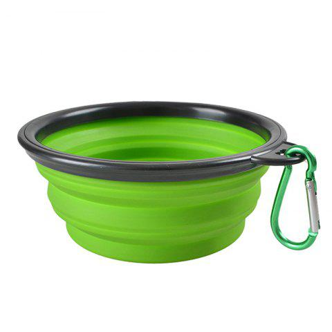 Chic Portable Silicone Collapsible Pet Bowl