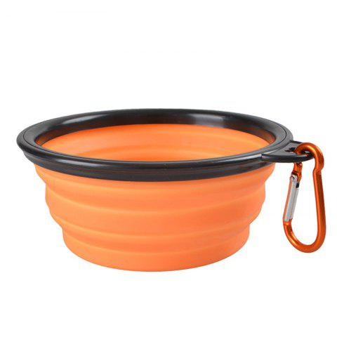 Online Portable Silicone Collapsible Pet Bowl