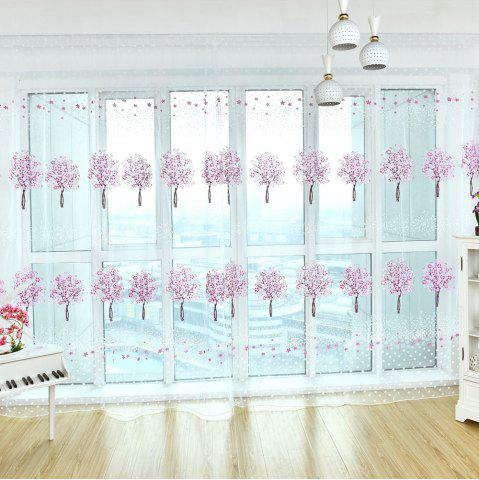 Discount Home Fashion Multicolor Tree Offset Screens