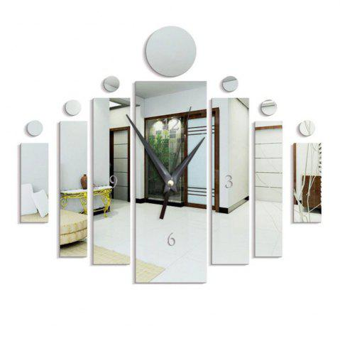 Discount Personalized DIY Creative Acrylic Household Wall Clock Wall Stickers