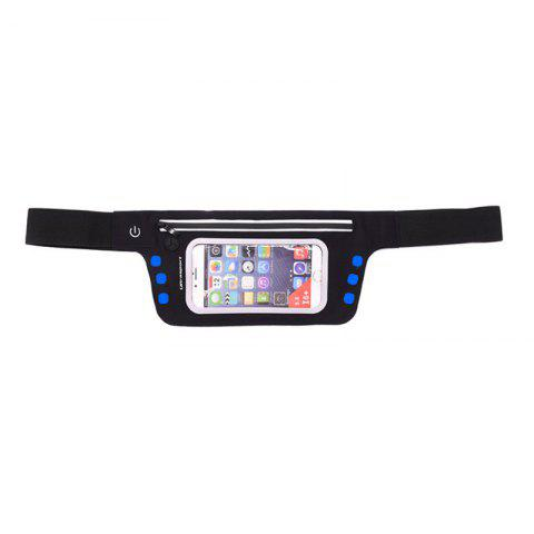 Fashion LED Luminescence Waist Bag for Outdoor Sports Mountaineering Running