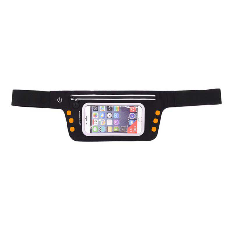 Affordable LED Luminescence Waist Bag for Outdoor Sports Mountaineering Running