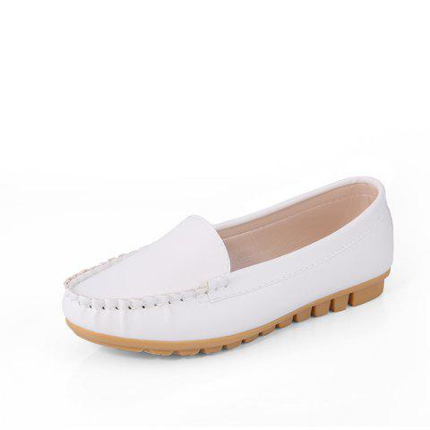 Online Casual Round Shallow Flat Shoes