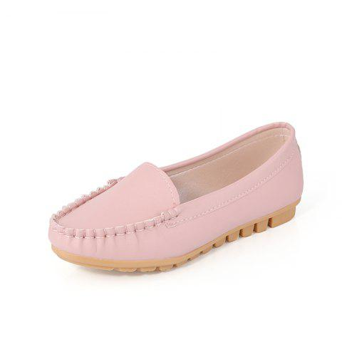 Chaussures plates rondes peu profondes
