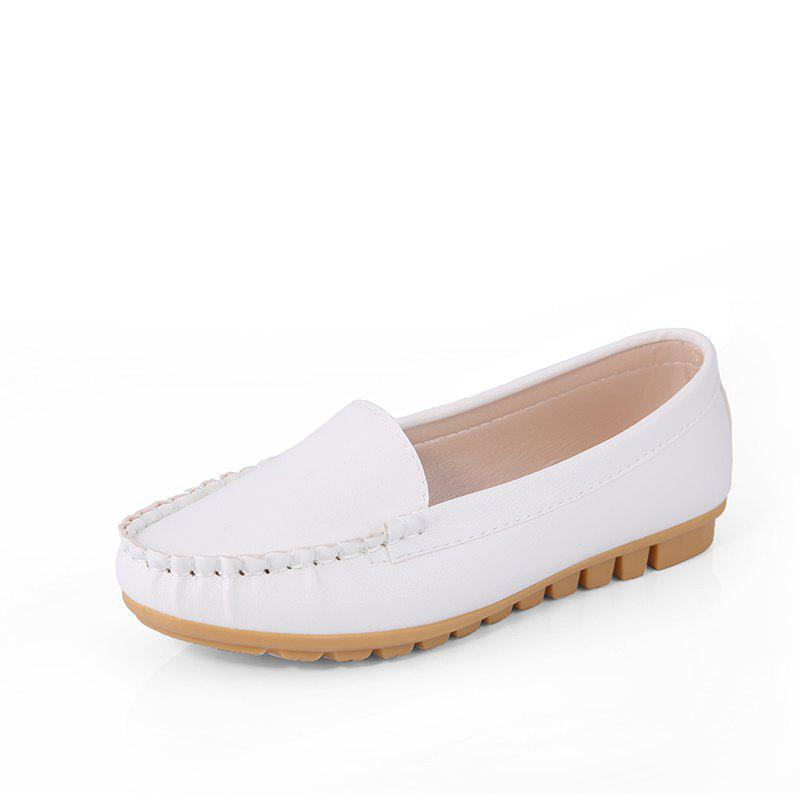 Latest Casual Round Shallow Flat Shoes