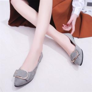 Casual Shallow Mouth Flat Pointed Shoes -