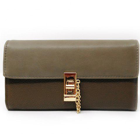 Best Women's Purse Metal Hasp Design Rectangle Shape Elegant