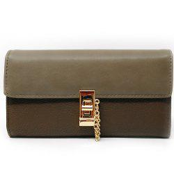 Women's Purse Metal Hasp Design Rectangle Shape Elegant -