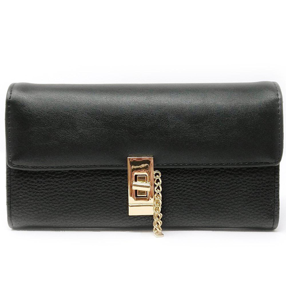 Discount Women's Purse Metal Hasp Design Rectangle Shape Elegant