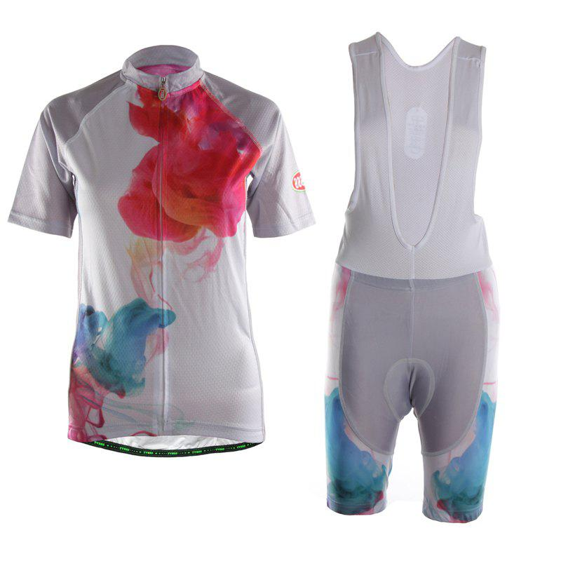 Outfit TVSSS Women  Summer Artistic Color Quick Dry Bike Clothing Sportswear Suit
