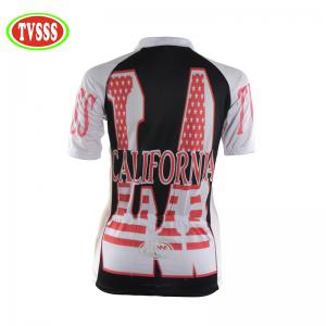 TVSSS Women Summer Short-Sleeved Letter Pattern Sports Riding Suit -